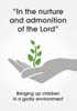 Cover of the book entitled In the nurture and admonition of the Lord ‒ £8.50