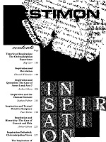 Cover of the special issue entitled Inspiration