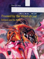 "Cover of the special issue entitled ""Framed by the Word of God"""