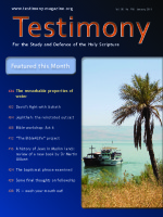 January 2011 Testimony magazine cover