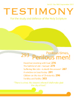Cover of Testimony magazine volume 81 issue 964