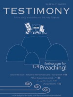 April 2012 Testimony magazine cover