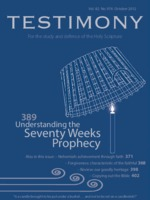 October 2012 Testimony magazine cover