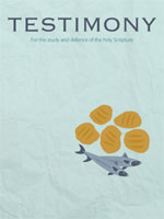 Cover of Testimony magazine volume 83 issue 980