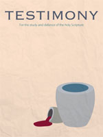Cover of Testimony magazine volume 83 issue 981