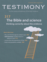 Cover of Testimony magazine volume 84 issue 996