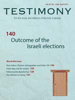 April 2015 Testimony magazine cover