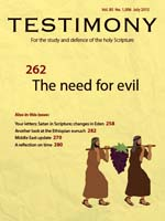July 2015 Testimony magazine cover