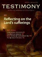 March 2017 Testimony magazine cover