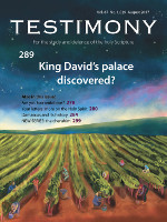 Cover of Testimony magazine volume 87 issue 1029