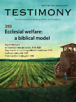Cover of Testimony magazine volume 87 issue 1032