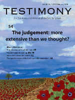 Cover of Testimony magazine volume 88 issue 1035