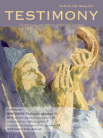 January 2019 Testimony magazine cover