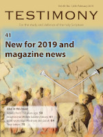 Cover of Testimony magazine volume 89 issue 1046