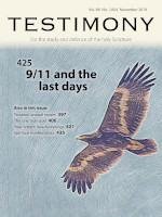 Cover of Testimony magazine volume 89 issue 1054