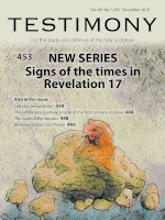 Cover of Testimony magazine volume 89 issue 1055
