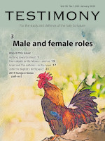 Cover of Testimony magazine volume 90 issue 1056