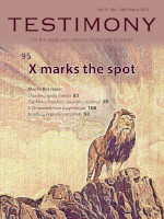 Cover of Testimony magazine volume 91 issue 1069