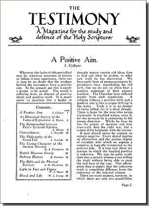 Volume 1, Issue 1, Page 1